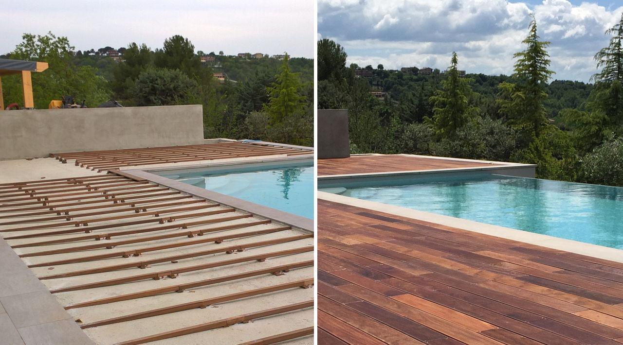 Pavimenti in legno per esterni - Info Tecniche